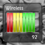 Wifi signal strength meter