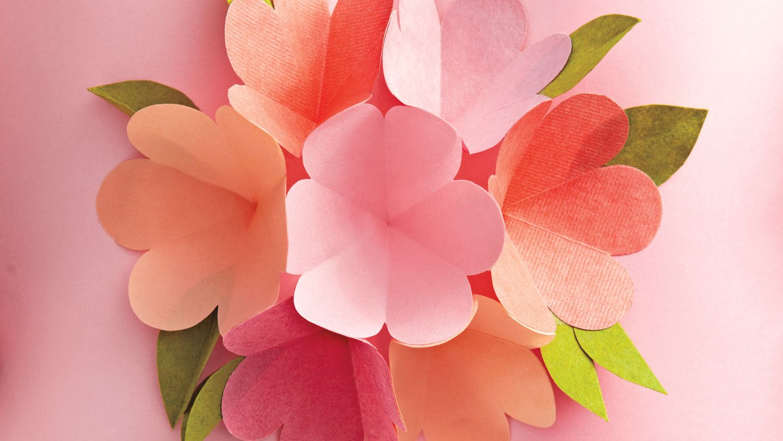 Покровом пресвятой, как сделать цветы из бумаги своими руками для открытки