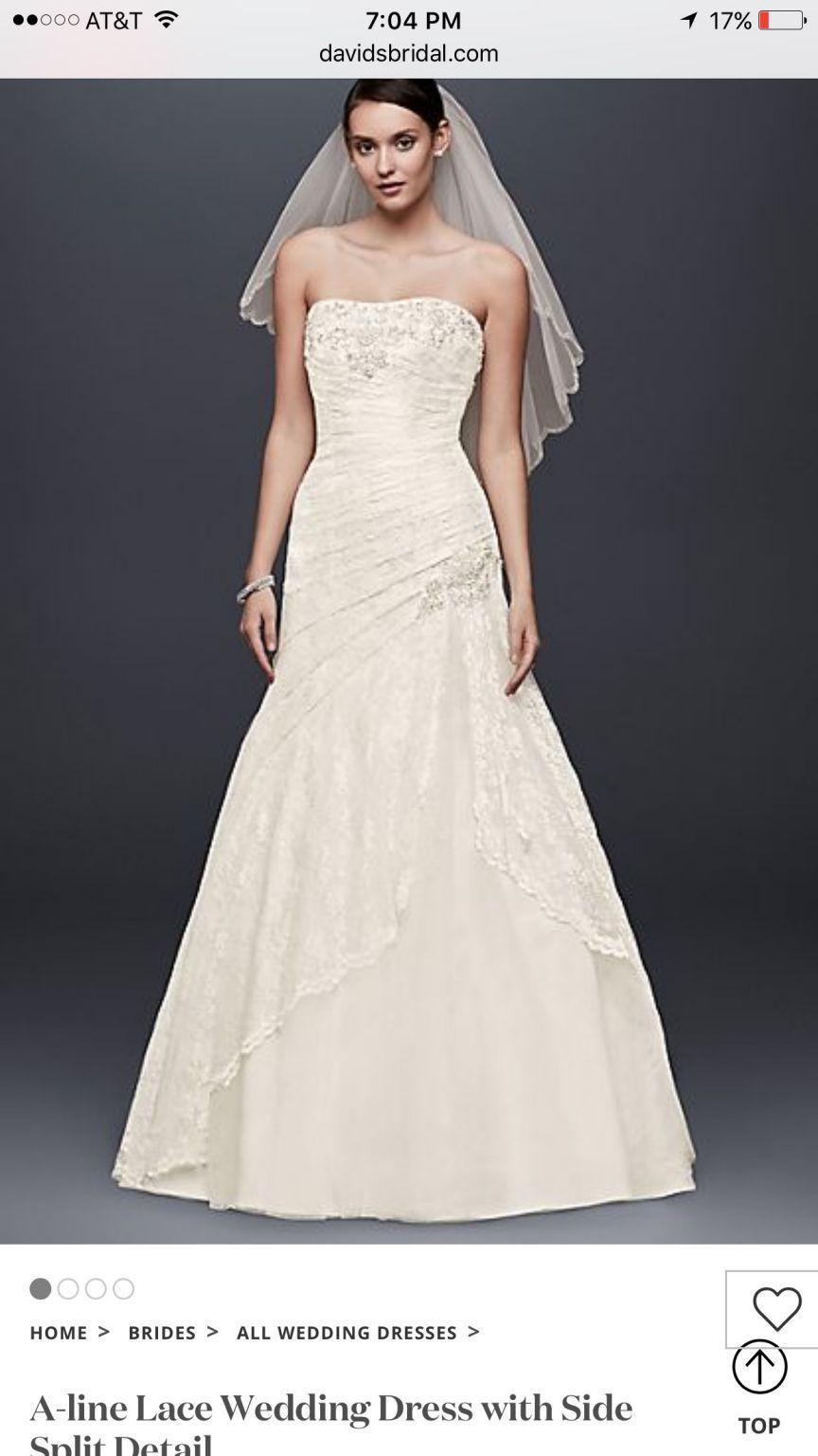 Used wedding dresses near me  Davidus Bridal YP  Size   Used Wedding Dresses  Size