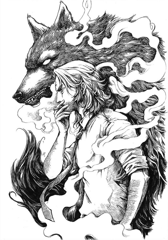 Bigby Wolf The Wolf Among Us By Rachta On Deviantart The Wolf Among Us Wolf Artwork Werewolf Art