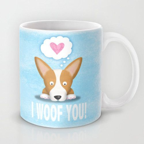 Corgi Coffee Mug - Pembroke I Woof You