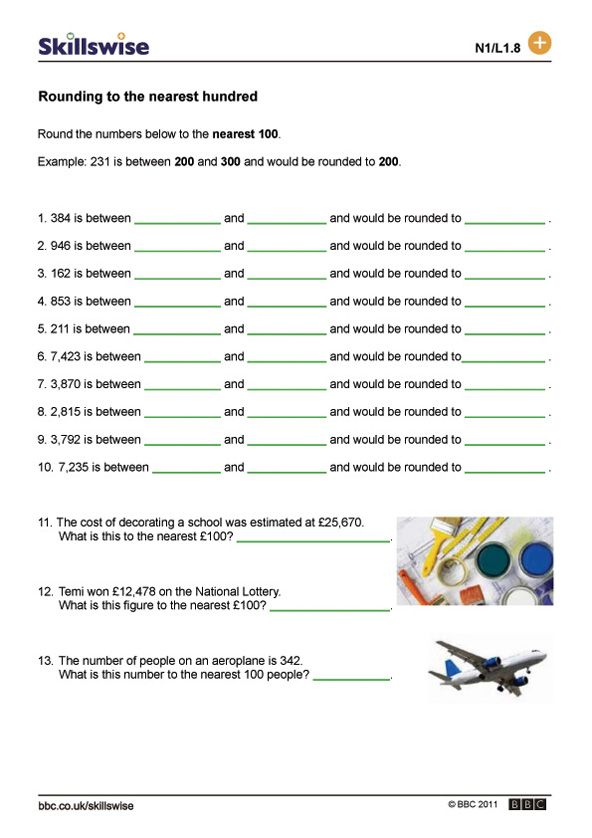 Rounding and estimating worksheet preview | Maths | Pinterest ...