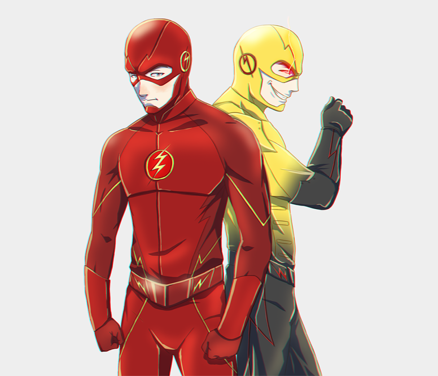 The Flash and Professor Zoom by FXNart.deviantart.com on @DeviantArt
