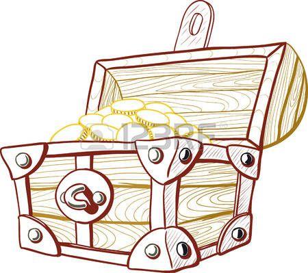 baul abierto del tesoro: Cofre del tesoro Vectores | animaciones ...