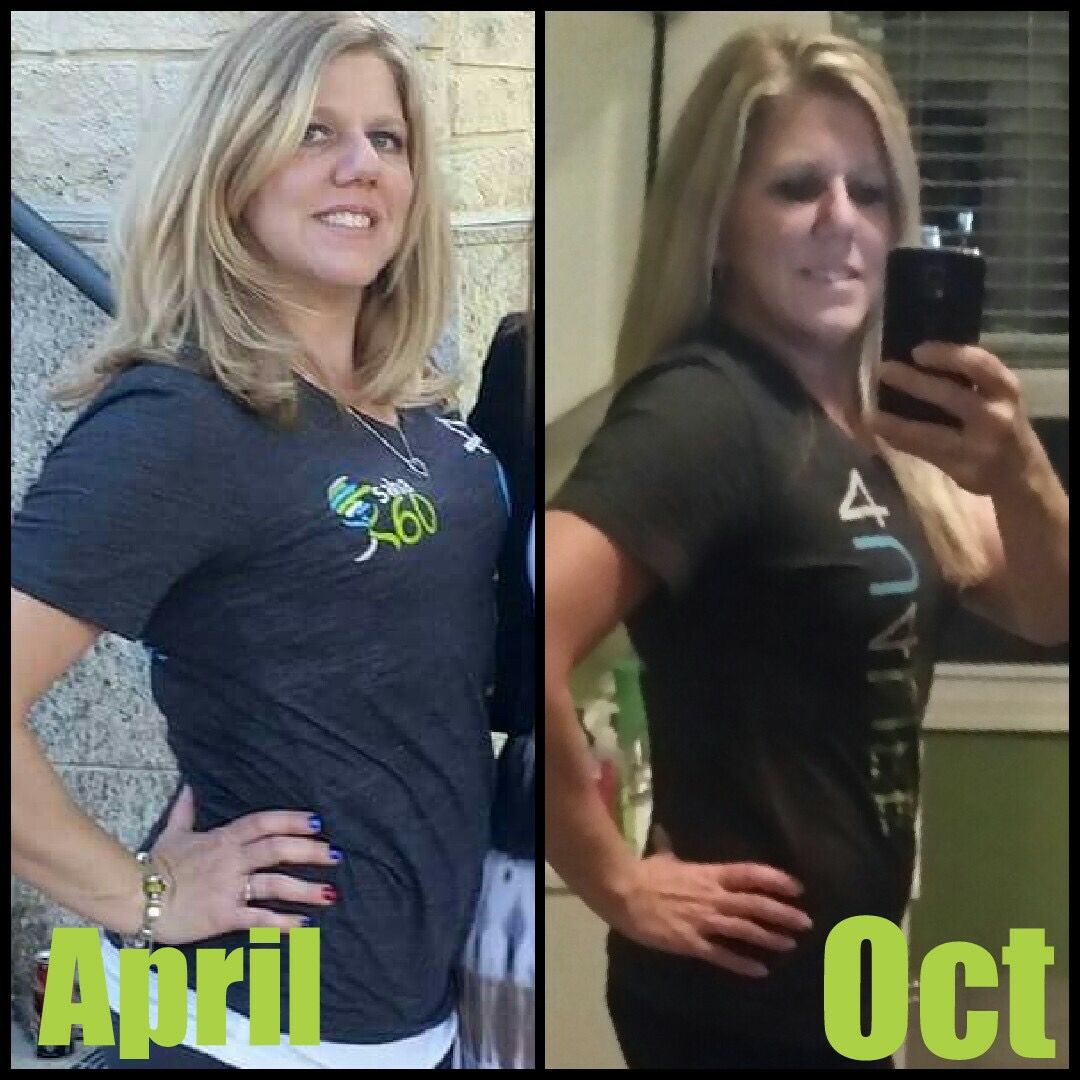 SCALES LIE....SABA 60 RAWKS!! Colleen weighs the same in this pic from April and the new one from yesterday. And she is okay with that! She follows Saba 365 lifestyle and takes Saba ACE G2. She lifts weights 4 days a week. Colleen is in Love with the changes her body has made!!