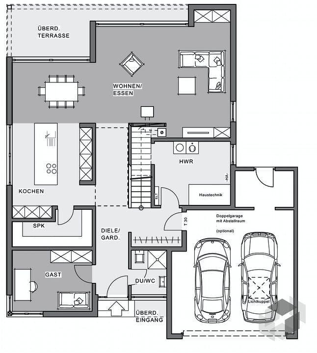Bauhaus Villa von Meisterstück HAUS