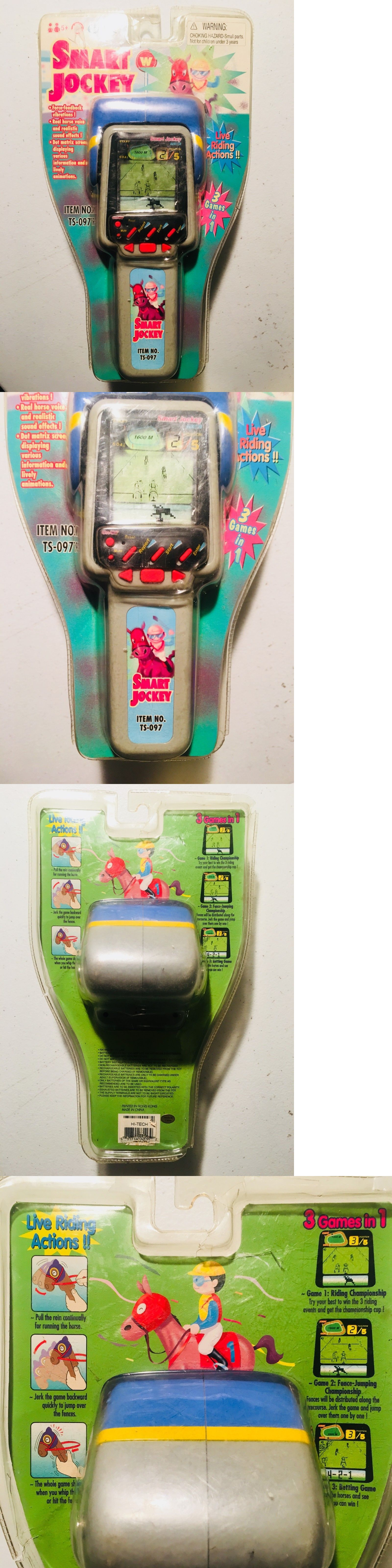 Giga Pets 158701 Rare! Smart Jockey Handheld Electronic