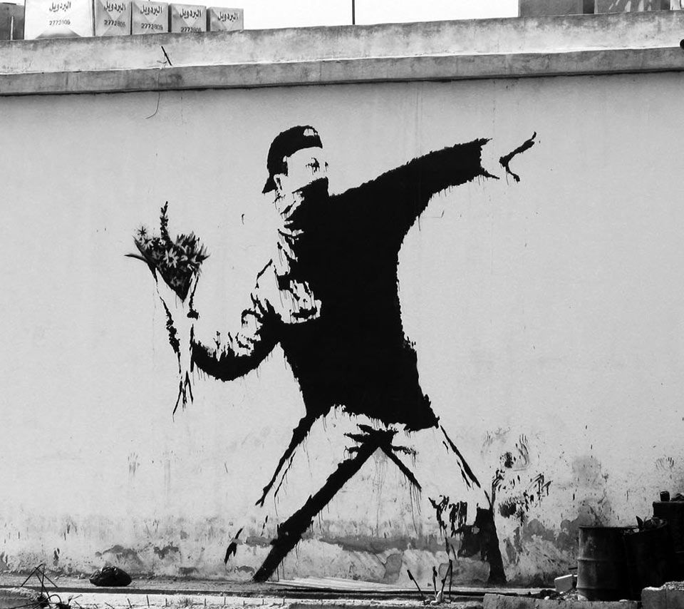 Bansky - Wall and piece