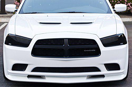 Dodge Charger R T Srt8 V6 V8 Headlight Covers Smoke 2011 2012 2013 2014 Add Style To Your 2011 2012 2013 2014 Dodge Cha Dodge Charger Headlight Covers Dodge