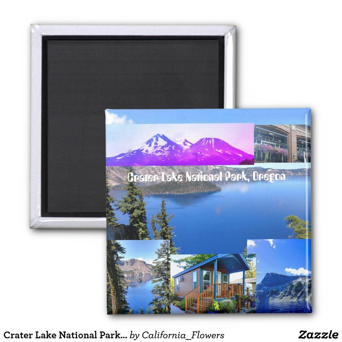 Crater Lake National Park Oregon Magnet | Zazzle.com