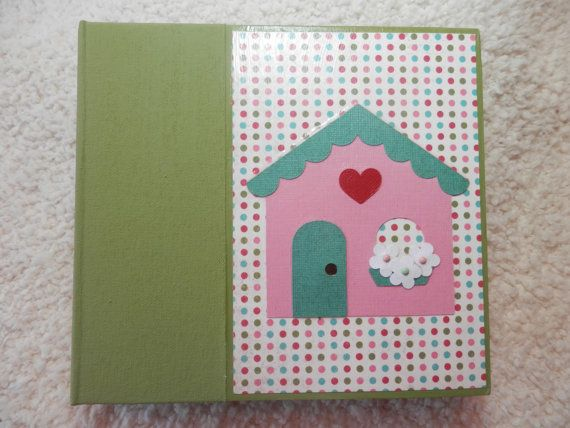 6x6 Family or New Home Scrapbook by SimplyMemories on Etsy