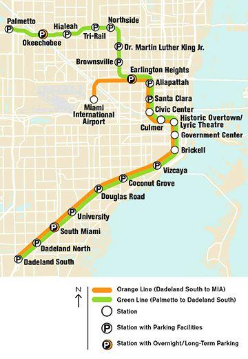metrorail station miami dade transit florida pinterest miami