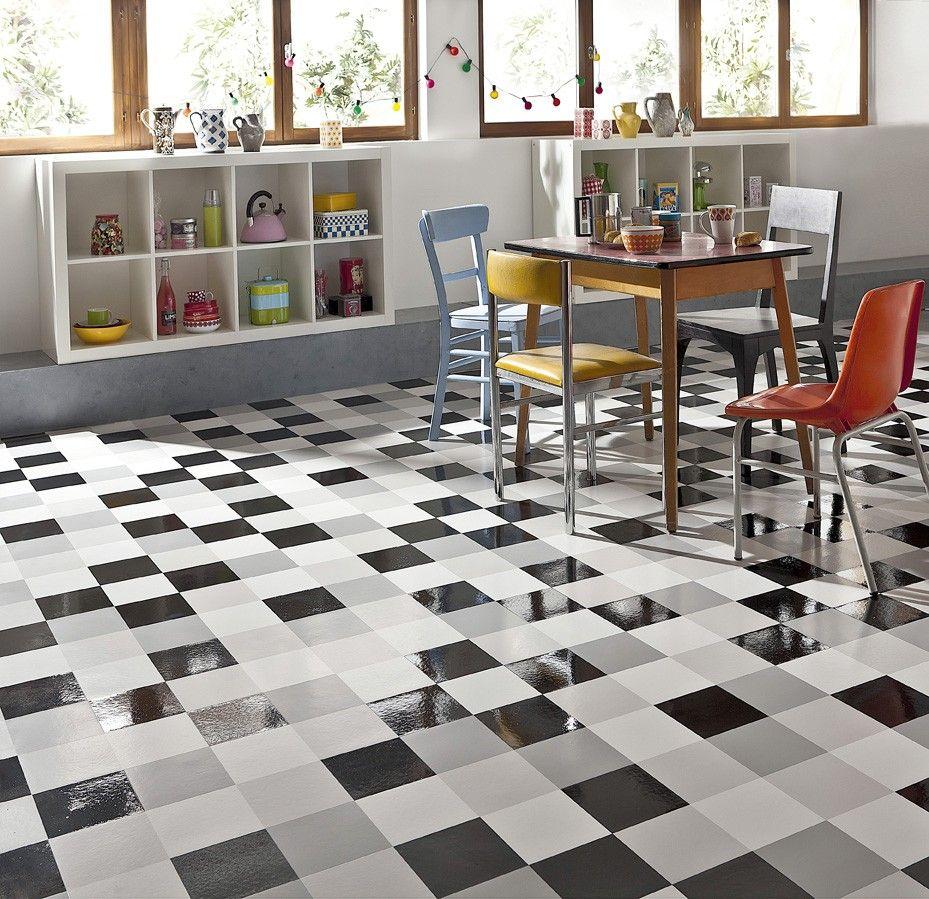 Sol Vinyle City Mat Gloss Saint Maclou Modern Flooring