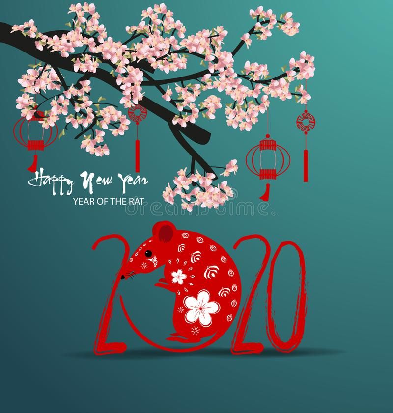 Christmas Happy New Year 2020 Happy New Year 2020, merry christmas. Happy Chinese New Year 2020