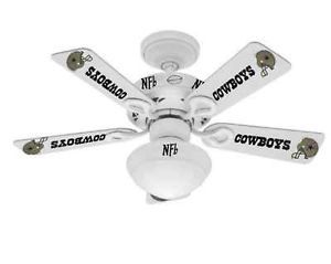 Dallas Cowboys Ceiling Fan on eBay starting at only 1 Penny