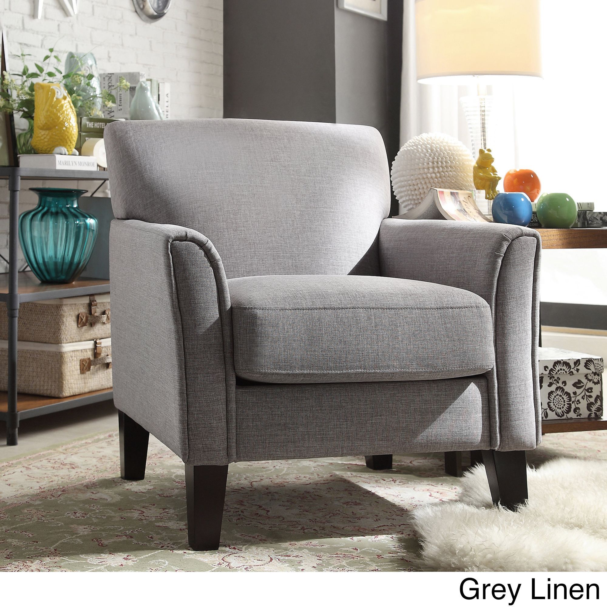 Tribecca Home Uptown Modern Accent Chair  Overstock Shopping Magnificent Overstock Living Room Chairs Design Inspiration