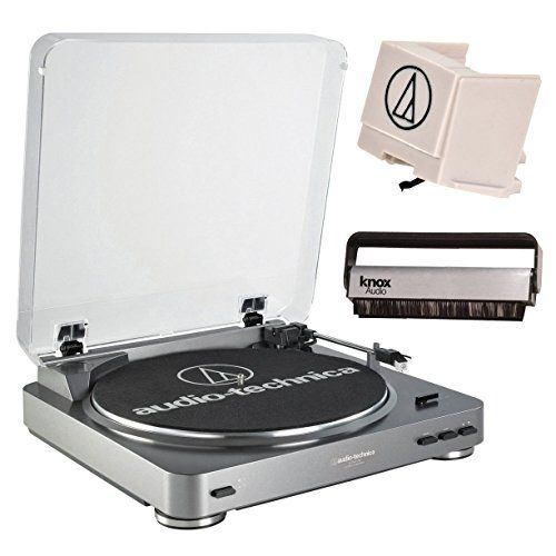 Audio Technica Atlp60usb Turntable With Usb Port Atn3600l Replacement Stylus And Knox Vinyl Brush To View Further Audio Technica Turntable Stereo Turntable