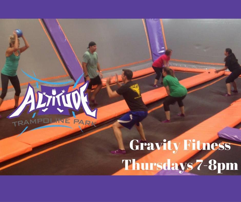 Pin by Altitude Trampoline Park Katy on Gravity Fitness