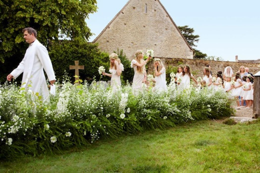 Kate Moss wedding was perfection