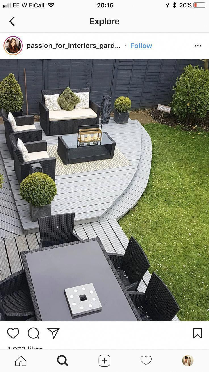 Garden furniture sets are both comfy and elegant. A rustic garden furnishings se…