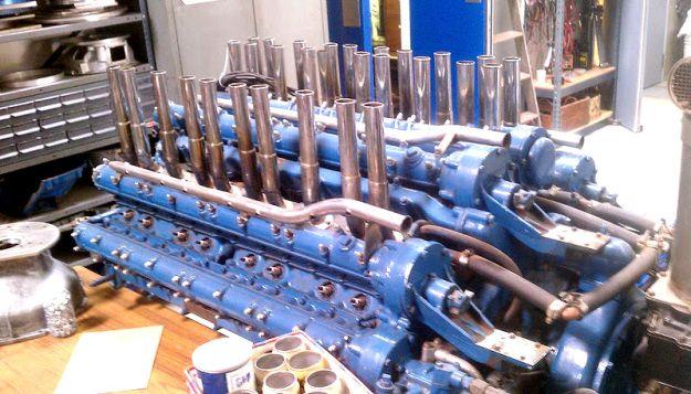 Duesenberg W 24 Marine Engine Engineering Duesenberg Car Marine