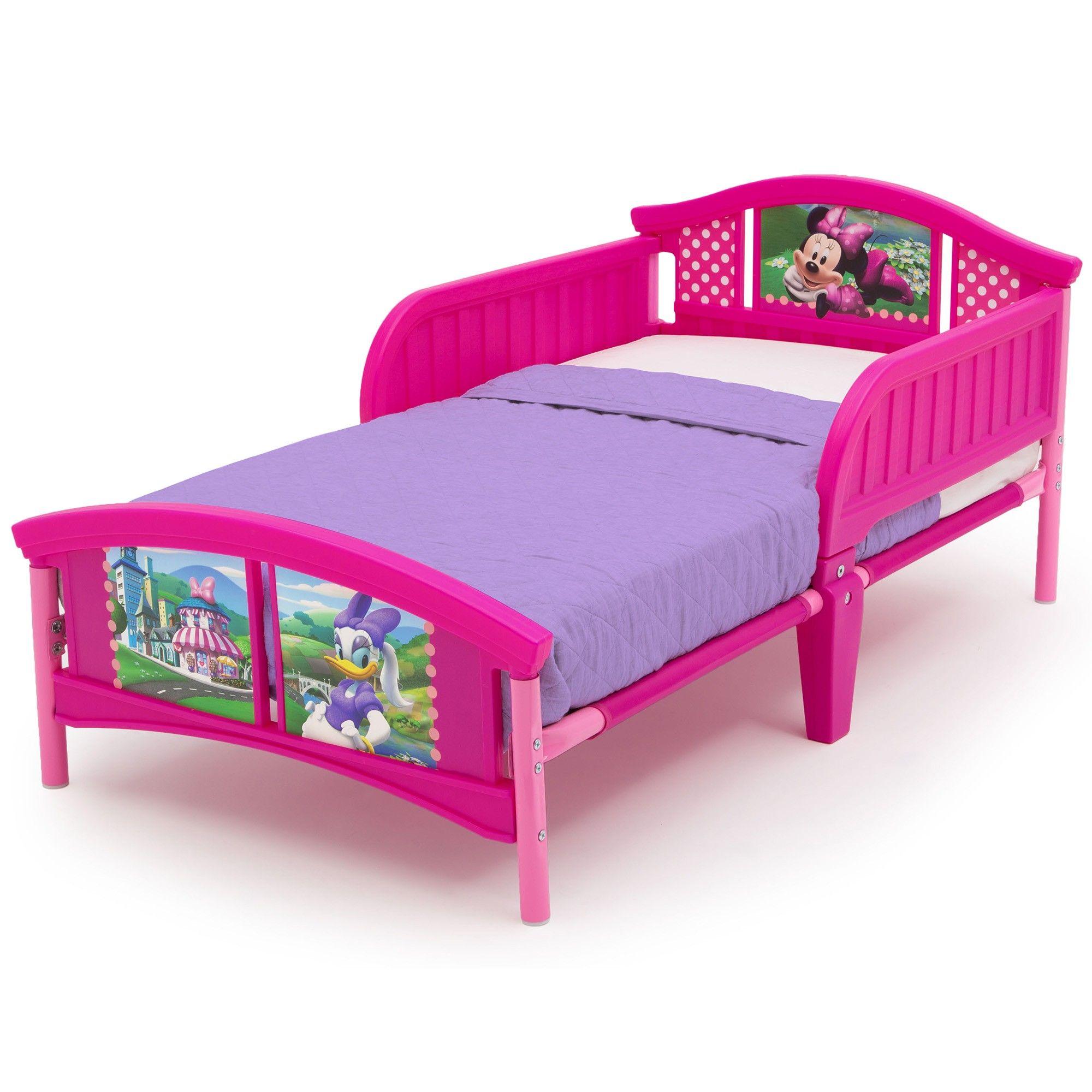 minnie toddler bed