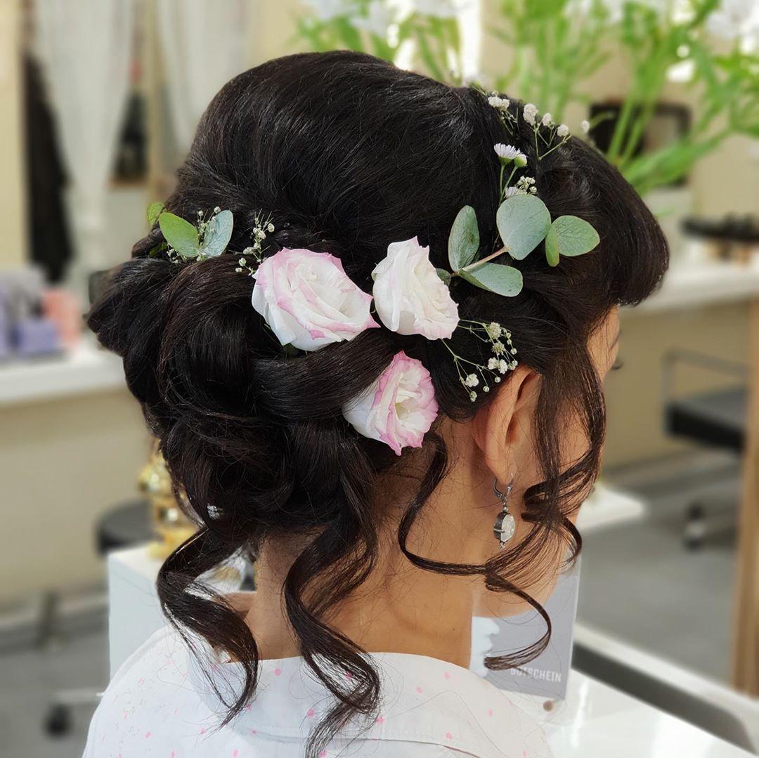 Hochsteckfrisur Stylistin Janette Wunderhaar Friseur Berlin Steglitz Zehlendorf Hochsteckfrisur Flechtfr Bride Hairstyles Wedding Updo Hair Updos
