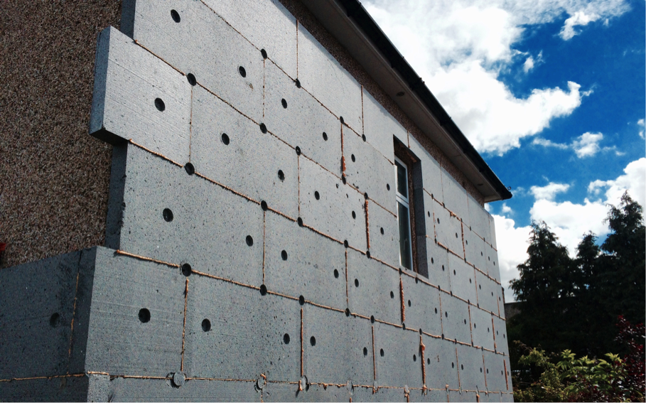 Working with Expanded Polystyrene (EPS) Insulation
