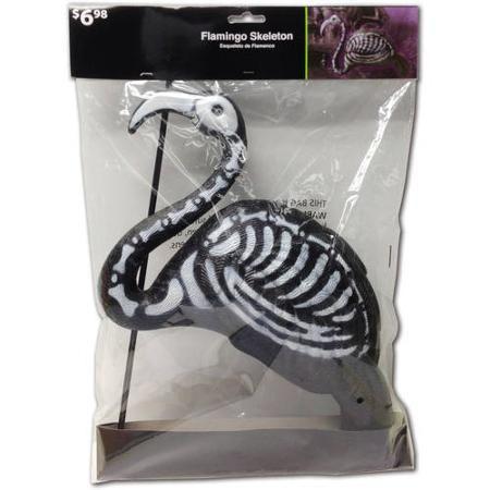 Skull Flamingo Halloween Decoration - Walmart HALLOWEEN - walmart halloween decorations