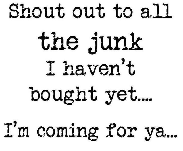 Junking Thrifter Gift Idea Thrifting Is My Cardio Vintage Flea Market Funny Thrifting Water Bottle