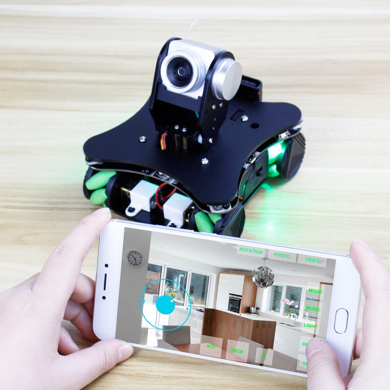 Yahboom Omniduino smart robot with Mecanum Wheel
