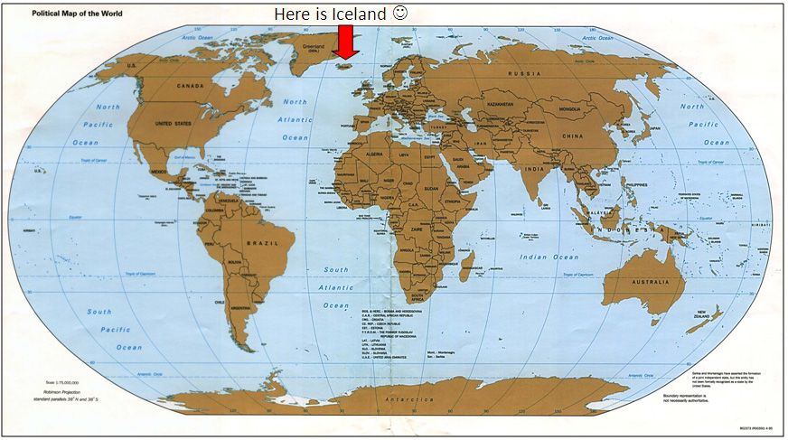 Here IS Iceland! iceland world | Places to Run! | World map ... Iceland On A World Map on england on europe map, south pacific islands world map, iceland on a map of europe, show iceland on world map, iceland map world atlas, island on world map, ascension island map, monster island map, java on world map, reykjavik iceland on world map, latvia on world map, kenya on world map, namibia on world map, easter island map, iceland location on globe, iceland on a canada map, digimon world 1 map,