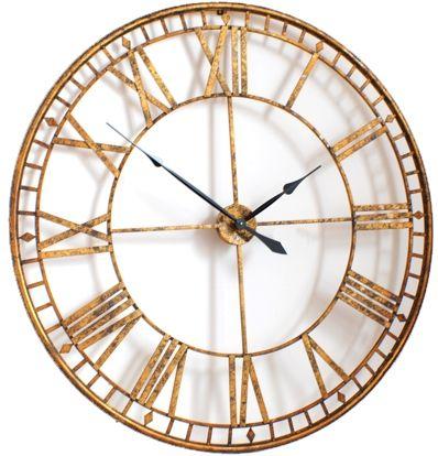 Roman Giant Vintage Gold Skeleton Wall Clock Uk Large Outdoor Wall Clock Gold Wall Clock Skeleton Wall Clock