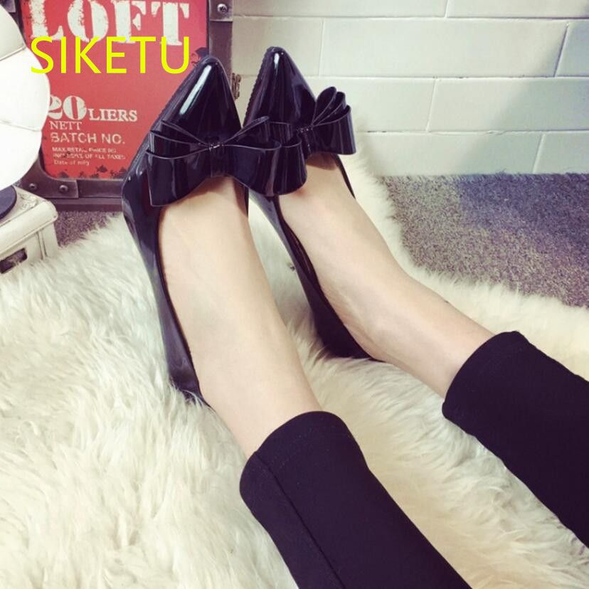 SIKETU 2017 Free shipping Spring and autumn women shoes sex high heels shoes fashion red Wedding shoes New pumps g300