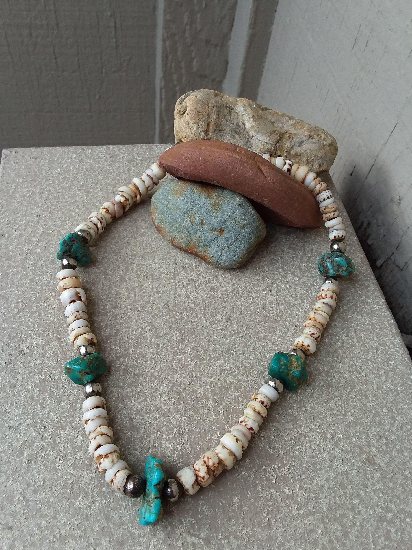 Unisex Boho Wood Bead Necklace Retro Vintage Beach Hippy NEW