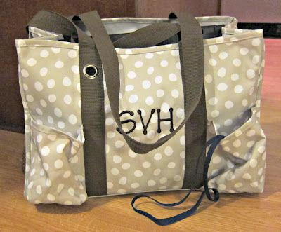 Thirty One Organizing Utility Tote Best Teacher Bag Ever I Am Curly
