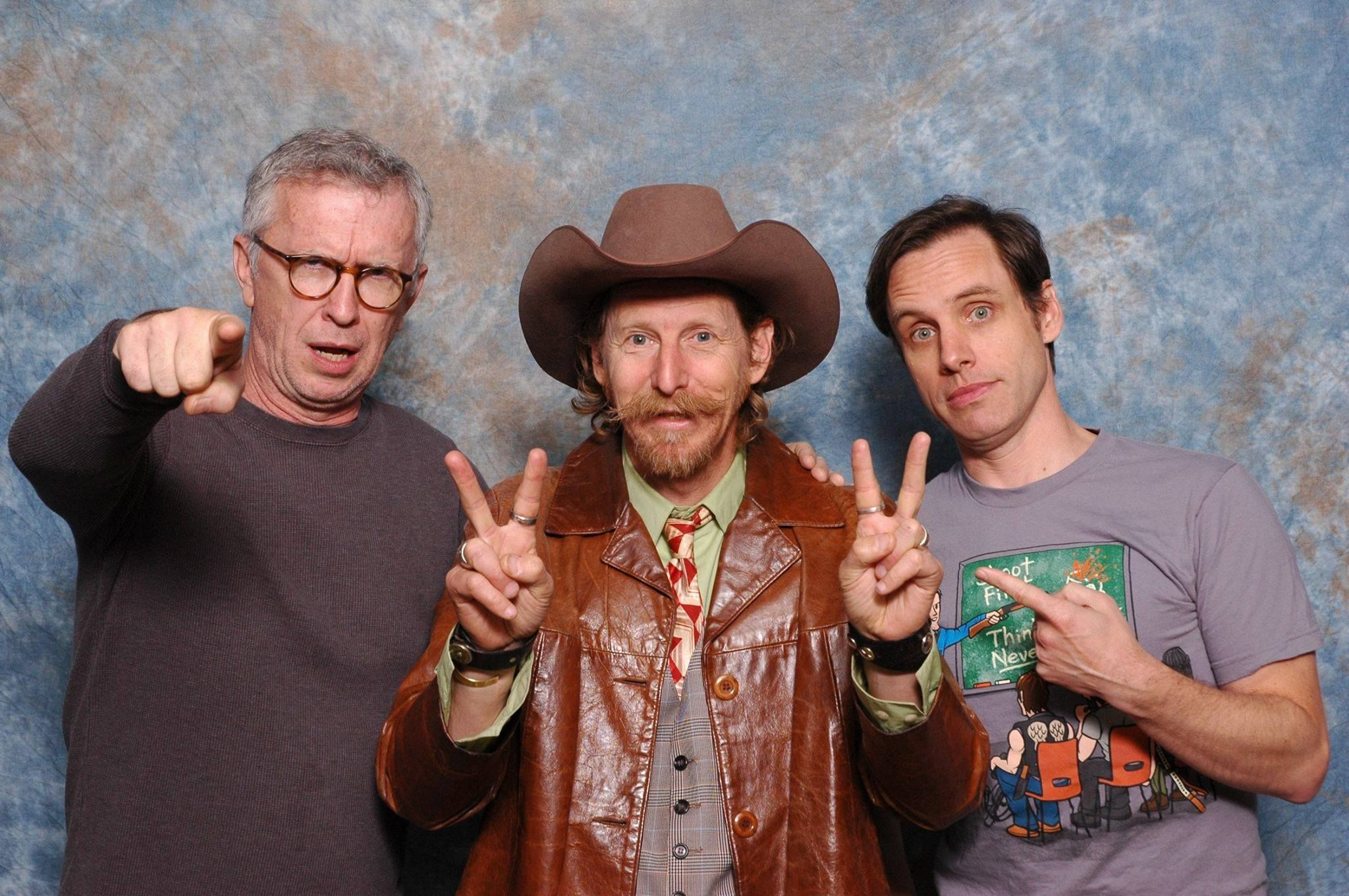 Steve Coulter Lew Temple And Daniel Thomas May