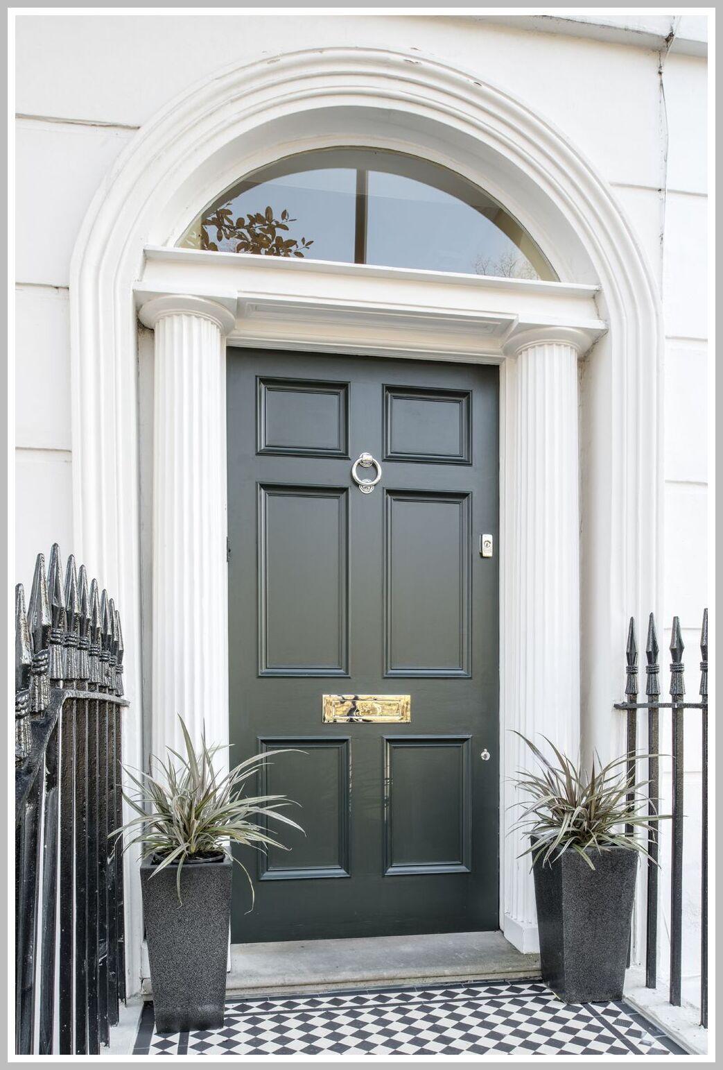 108 Reference Of Front Door Entrance Pictures In 2020 House Entrance Front Door Design Georgian Doors