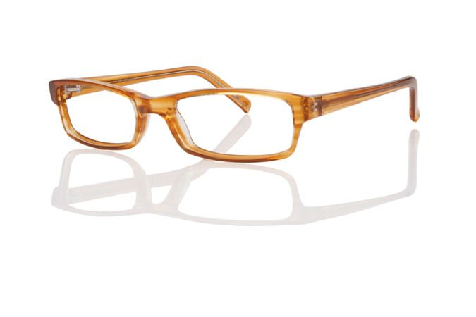 c5217d1f26d Eco-optics Recycled Material Eyeglasses Frames (1056) in Light Brown  Stripe