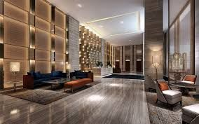 Residential tower lobby pinterest searching for Hotel design 987 4