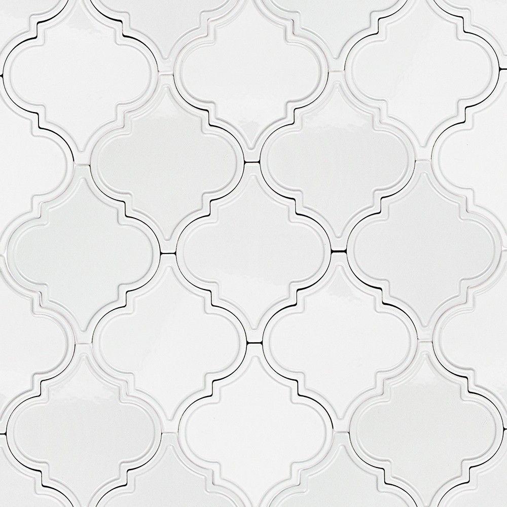 byzantine arabesque bianco ceramic tile arabesque tile shop by tile shapeu2026