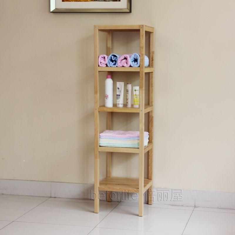 Clapboard Wood Shelving Storage Rack Shelf Bathroom Shelf