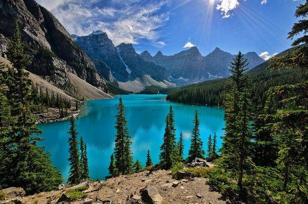 Moraine Lake Lodge Alberta Canada By Vincent Ramundo