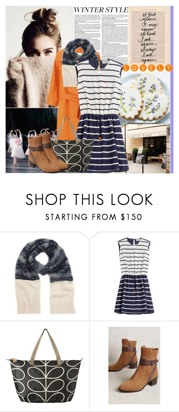 """""""Coloring in the Winter"""" by africagirls ❤ liked on Polyvore featuring MaxMara, Mulberry, Preen, Orla Kiely and Via Spiga"""