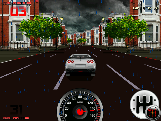 Amiga Racer 3.4 Remember the time when gaming was fun? Amiga Racer brings back the feeling of the 90's Amiga trilogy Lotus Turbo Challenge.  #videogames #pcgames #retrogaming