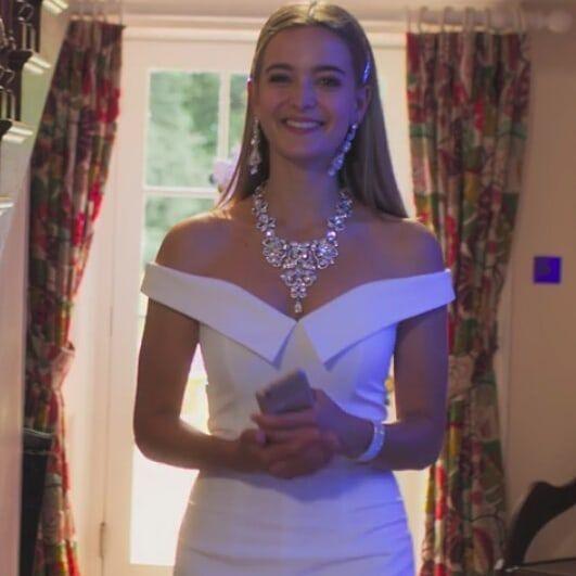 Jarlo Bardot Maxi Dress With Thigh Split And Train Detail Free Rein Tv Show Dresses Bride