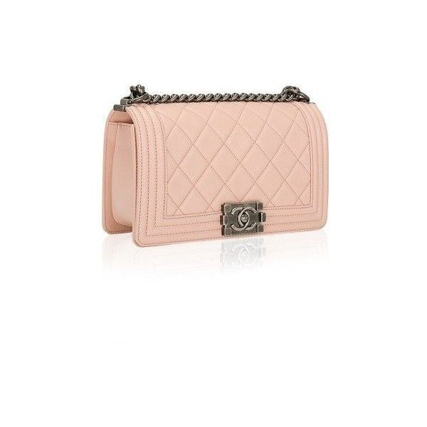 7319c7aac8 Madison Avenue Couture Chanel Nude Pink Quilted Calfskin Medium Boy...  (42.785 NOK