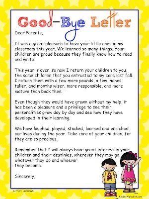 Pin by Silvia Monzon on Kinder 2016 Pinterest Kindergarten - letter to students from teacher