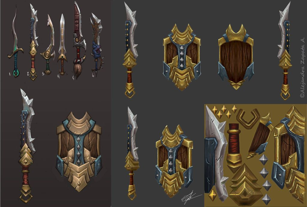 Pin on Weapons Concept & Illustration