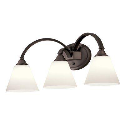 Portfolio 3 Light 17 5 In Chrome Vanity Light Bar At Lowes Com